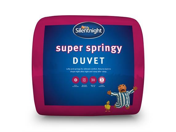 Silentnight Super Springy 10.5 Tog Duvet