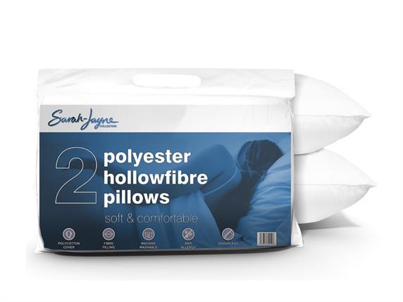 Sarah Jayne Soft & Comfortable Pillow 2 Pack