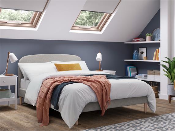 Harvey Fabric Bedframe