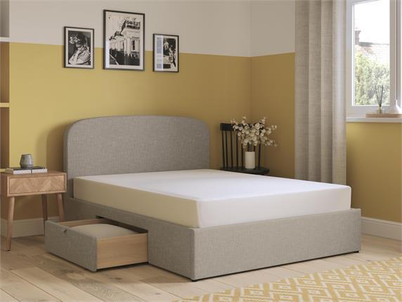 Marshall Fabric Drawer Bedframe