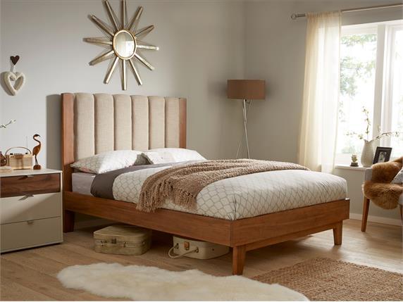Shaw Wooden Bedframe - Super King