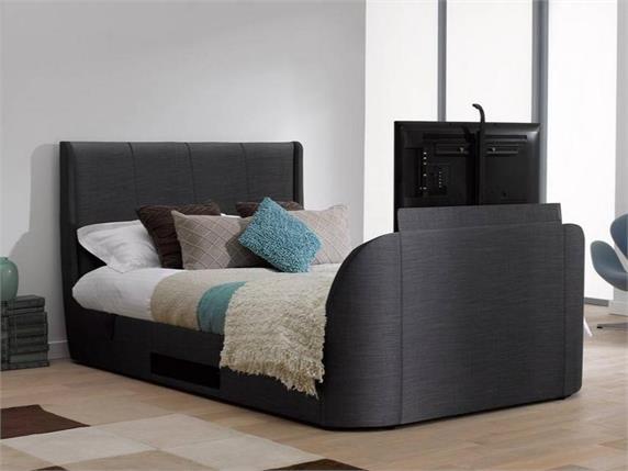 Titanium Fabric TV Bed