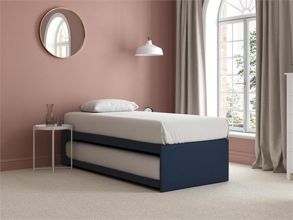 Sleep and Snooze Blue Guest Divan Base