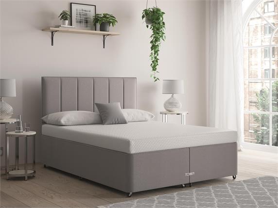 Sleep and Snooze Grey Divan Base