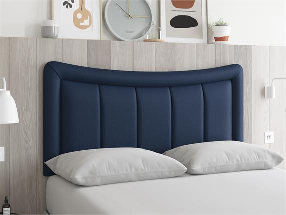 Sleep and Snooze Stockton Blue Headboard