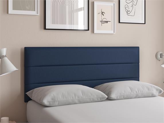 Sleep and Snooze Tampa Blue Headboard