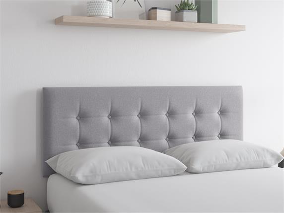 Sleep and Snooze Tucson Grey Headboard